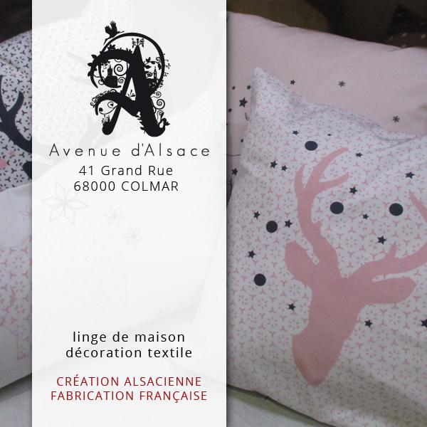 Avenue D Alsace Tissus De Creation Alsacienne Linge De Maison Deco